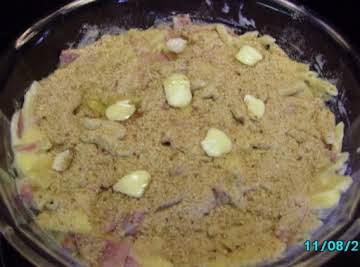 Ham and Mac Bake
