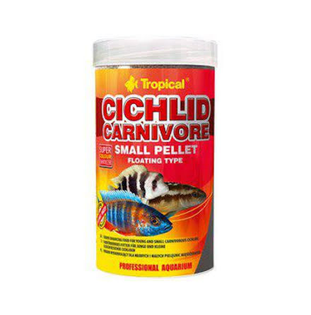 Cichlid carnivore S pellets, flytande