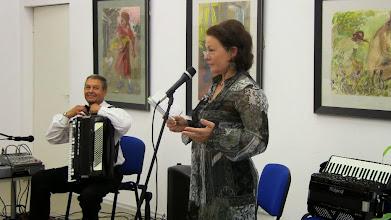 Photo: Žygimanto Laurinavičiaus eiles skaitė aktorė Vida Kojelytė.