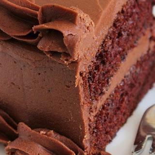 One Bowl Chocolate Cake III.