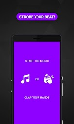 Music Strobe Pro:  hue flashlight for houseparty APK screenshot thumbnail 1