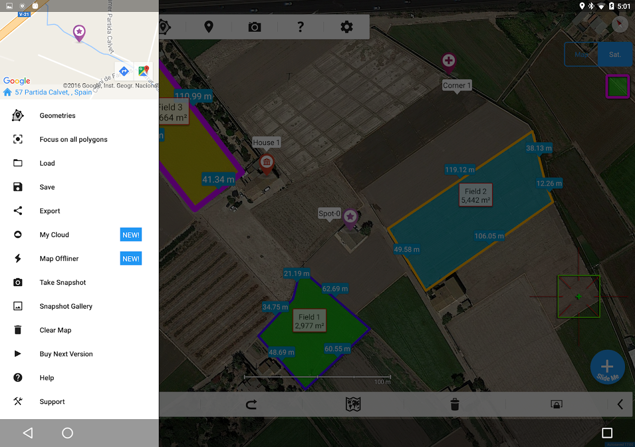Measure Map Pro- screenshot