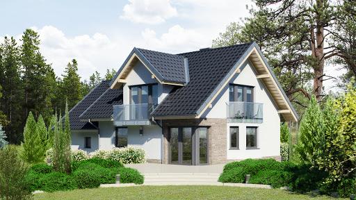 projekt Dom przy Cyprysowej 15 DN