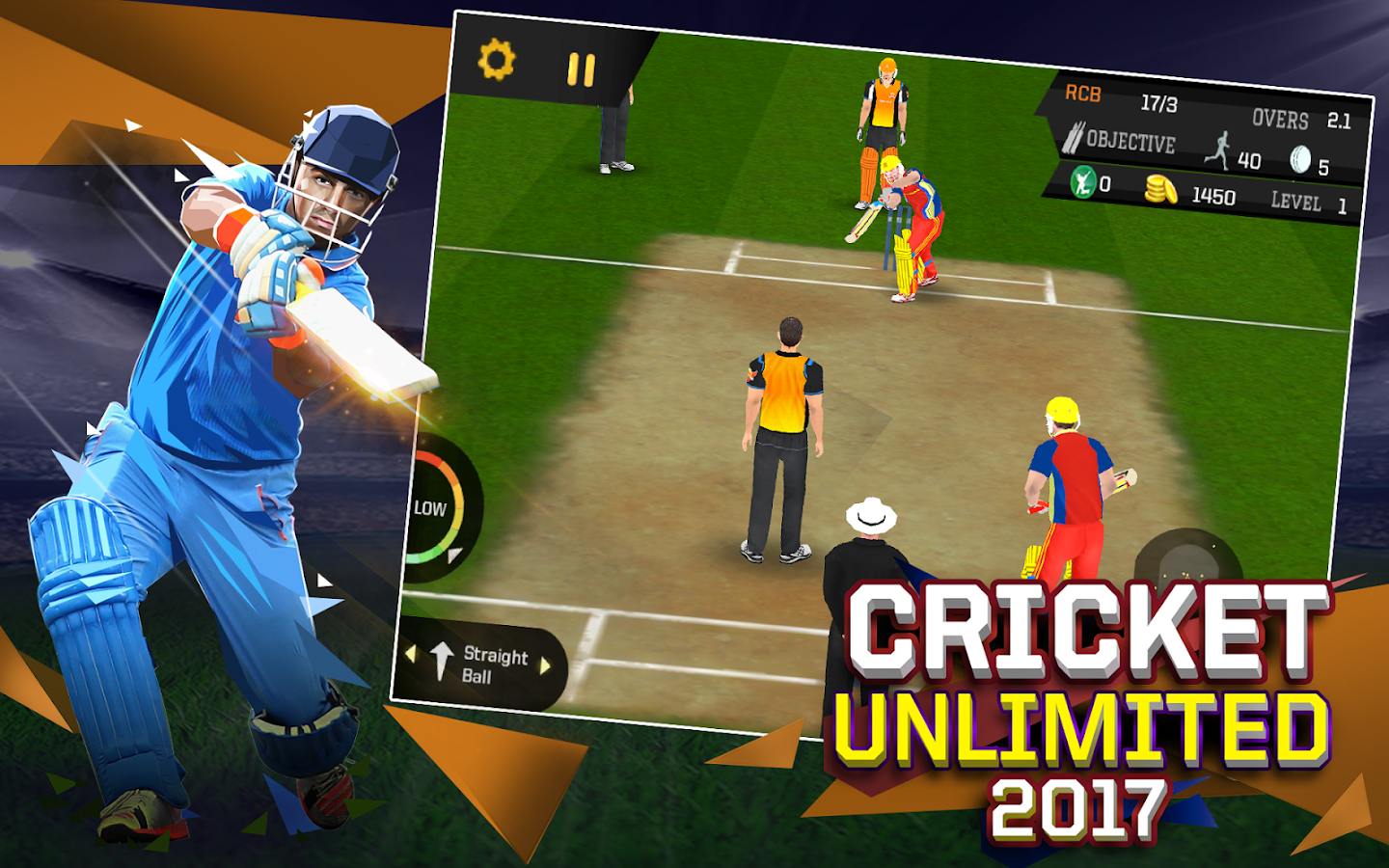 Cricket Unlimited 2017- screenshot