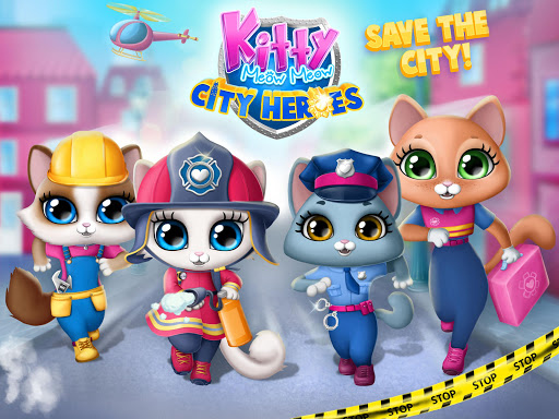 Kitty Meow Meow City Heroes - Cats to the Rescue! 2.0.51 screenshots 9