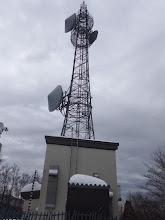 電波塔に到着