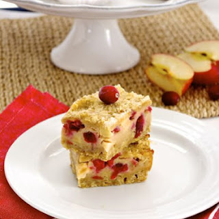 Apple Cranberry Pie Bars