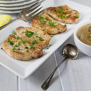 Pork Chops in Morel Mushroom Sauce