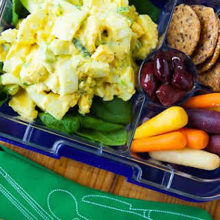 Egg Salad Bento Box.