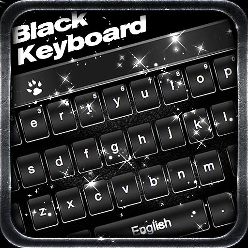 Classic Black Keyboard Theme