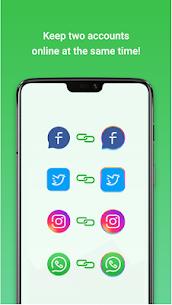 Dual Space: Multiple Accounts, Dual App 1