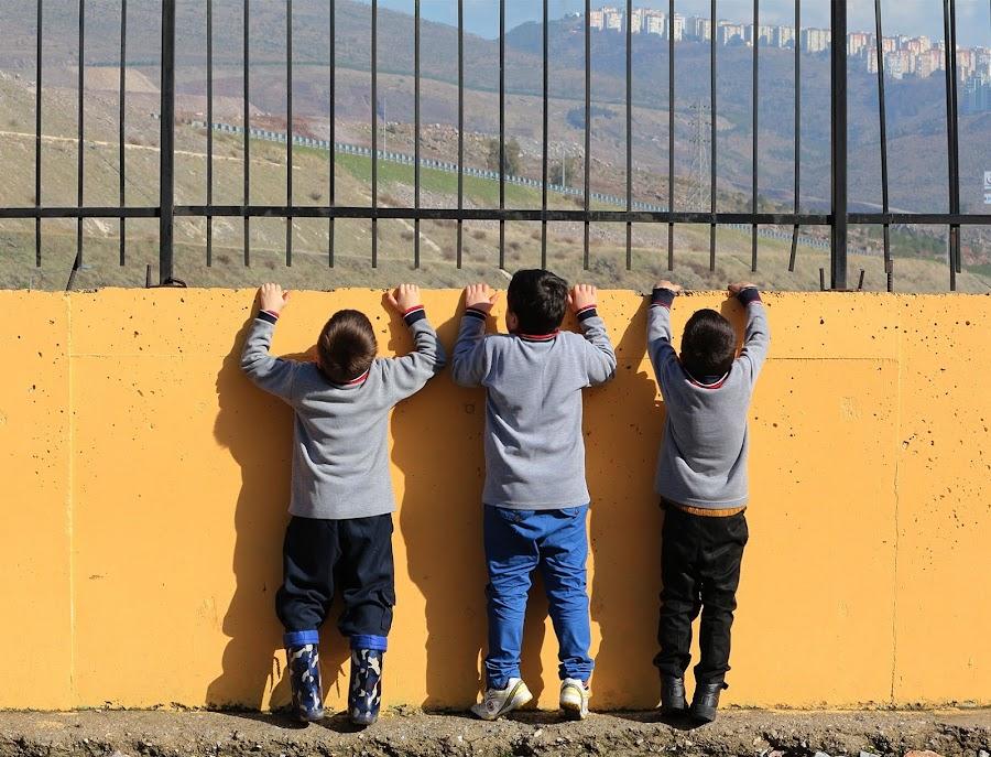 Three litle men by Özlem Ivaşcu - Babies & Children Child Portraits