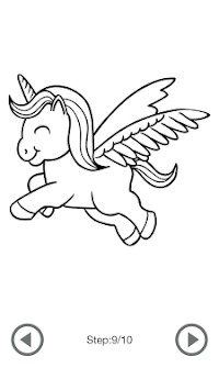 Gambar Unicorn Sketsa