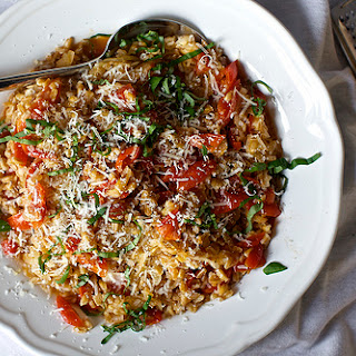 One-Pan Farro with Tomatoes.