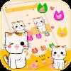 Lucky minou chat theme Lucky Kitty Cat