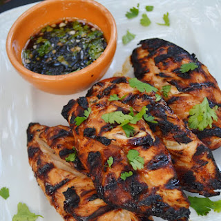 Honey Cilantro-Lime Grilled Chicken.