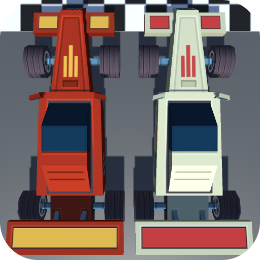 Retro Racing Online 🏎 Modify 2D race cars and win