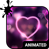 Velvet Love Animated Keyboard