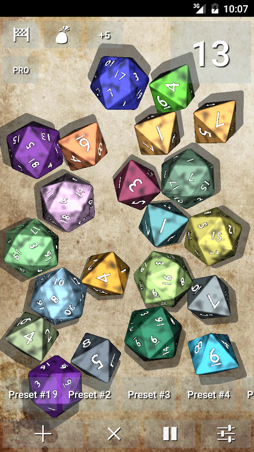 DnDice - 3D RPG Dice Roller- screenshot