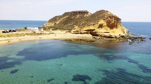 Playa Los Cocedores, en San Juan de los Terreros, de Pulpí.