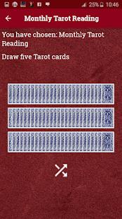 Daily Tarot Card Readings & Monthly Horoscope - náhled