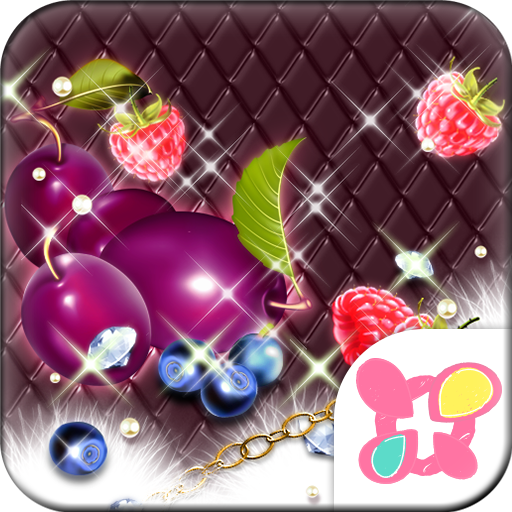 Girly Theme-Sparkle Fruits- Icon