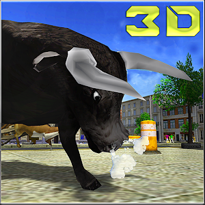 Angry Bull Attack Simulator 3D for PC and MAC