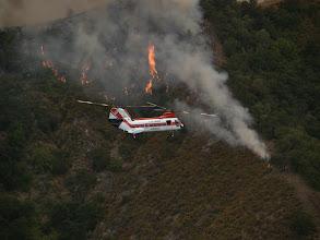 Photo: East Basin, California Fires of 2008