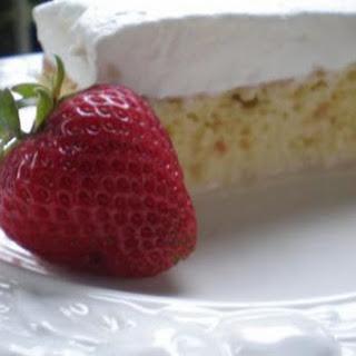 Tres Leches Cake para mi familia