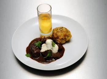 German Gulash With Marjoram Bread Dumplings And So Recipe