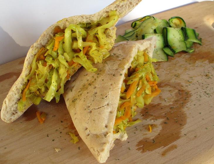 Ciabatta Bread with Cauliflower Curry
