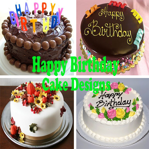 Birthday Cake Design Photos : Happy Birthday Cake Designs - Android Apps on Google Play
