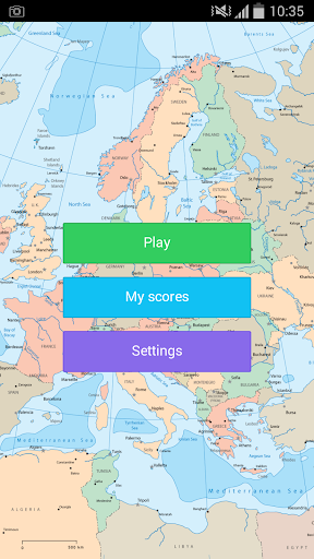 Europe Flag Game