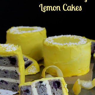 Mini-Blueberry Lemon Cakes