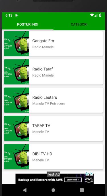 MANELE TV 2019 – (Android Приложения) — AppAgg