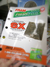 Photo: The FRAM Fresh Breeze Product Catalogue was easy to find and even easier to use!