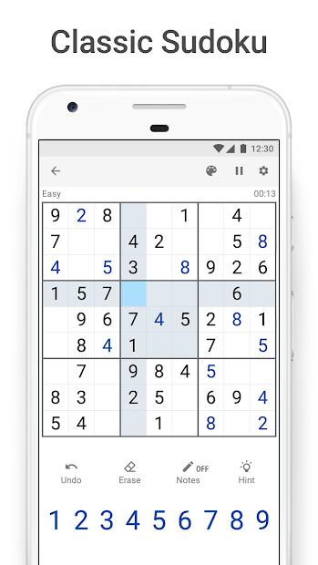 Sudoku.com - Free Sudoku Puzzles Android App Screenshot