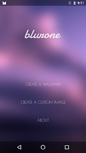 Blurone -Blur effect wallpaper v2.2