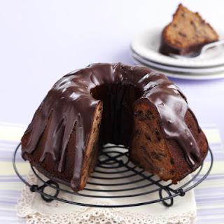 Chocolate Raisin Cake.