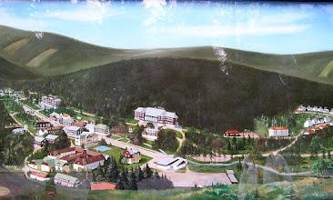 Photo: 65200053 Czechy - Karlova Studanka - plan uzdrowiska