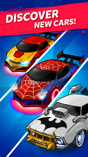 Merge Neon Car: Car Merger  screenshots 4