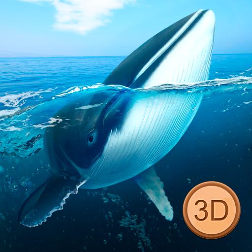 Big Blue Whale Underwater Survivor Simulator 3D