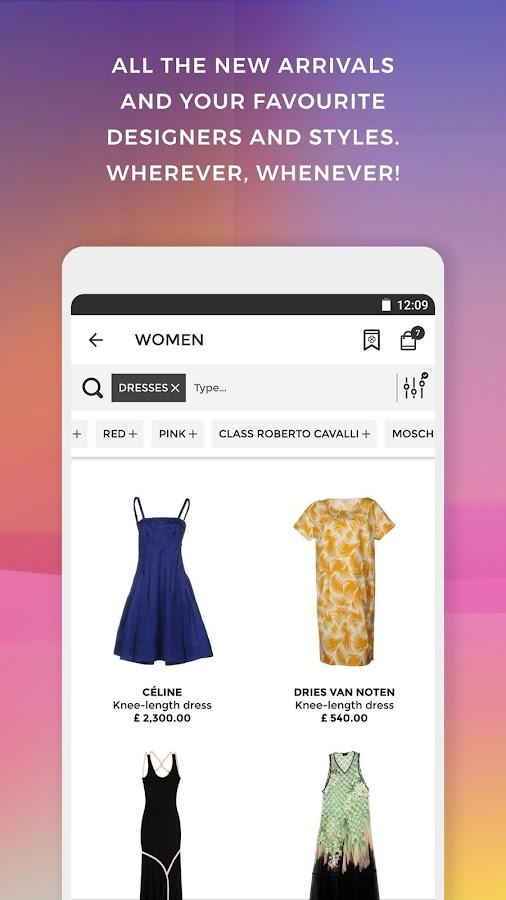 Yoox fashion design and art android apps on google play for Yoox design