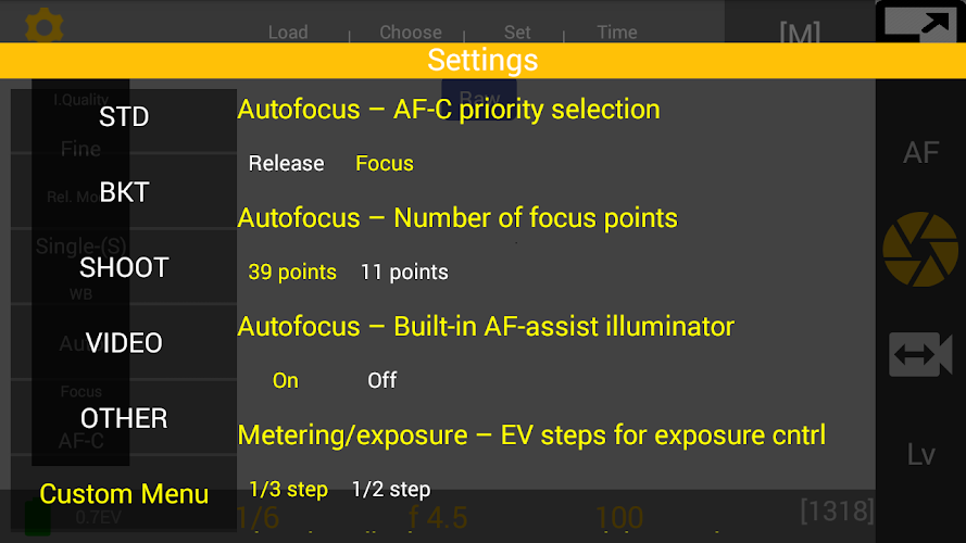 Nikon Dslr Remote & Dslr Settings Organizer APK 1 1