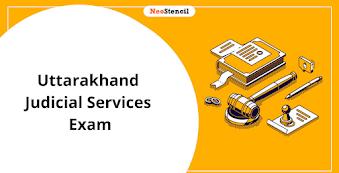 Uttarakhand Judicial Services Exam 2020