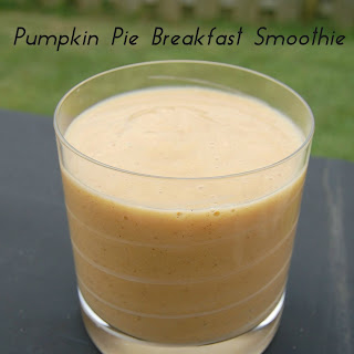 Pumpkin Pie Breakfast Smoothie