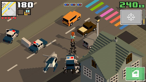 Smashy Road: Wanted 2 apktram screenshots 1