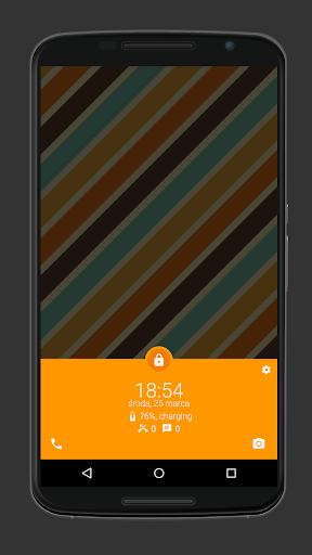 Material Design Lock Screen
