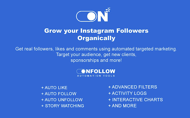 On-Follow | Automator for Instagram