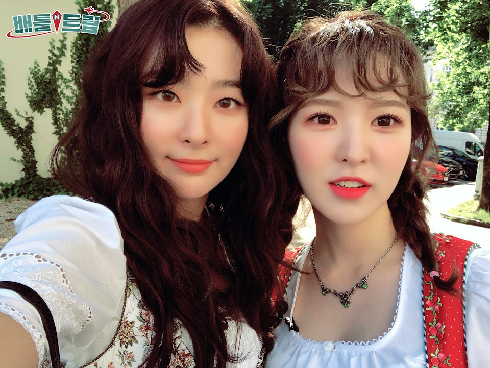 Red Velvet Seulgi and Wendy friendship